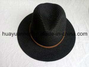 Leisurely Black Paper Safari Hats