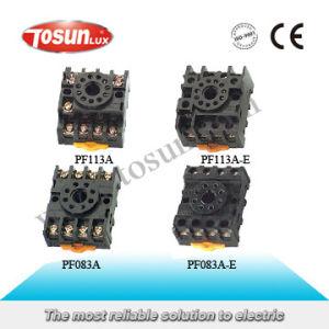 8 & 11 Pin Relay Socket pictures & photos