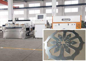 3 Axis Metal CNC Water Jet Cutting Machine Cooper Aluminum Field pictures & photos