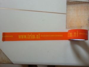 Printing Tape with Logo Brand Company Name BOPP Adhesive Packing Tape pictures & photos