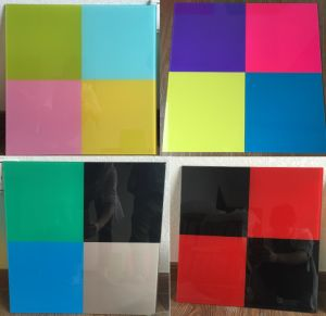 Colorful Office Glass Board / Back Painted Glassboard / Glass Writing Board with En12150 and ANSI Certificate pictures & photos