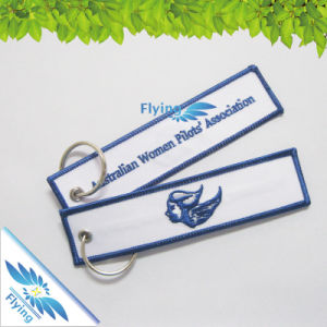 Whole Sale Embroidery Keychain Cloth Key Chains in Bulk Cheap