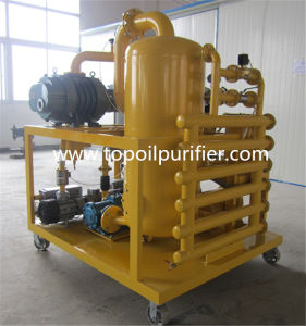 High Efficient 6000L/H Vacuum Transformer Oil Refinery Plant pictures & photos