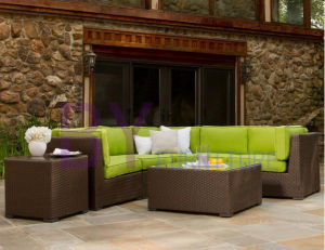 by-476 Brown Sectional Garden Sofa Outdoor Furniture pictures & photos