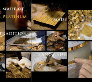 Goldcloud Glass Mosaic Bisazza Mosaic Tile pictures & photos