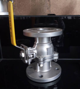 High-Platform Pad Flanged Ball Valve pictures & photos