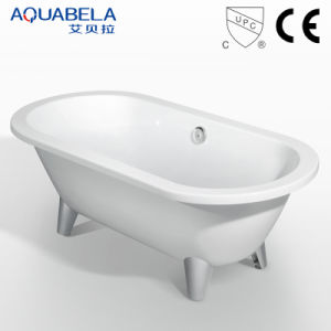 Acrylic Antique Classic Clawfoot Bathtub Saniyary Ware (JL621) pictures & photos