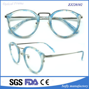 Hot Sell Custom Made Eyeglasses Frame Classic Acetate Eyelgass Optical Frames pictures & photos