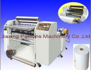China Supplier Cash Register Paper Roll Slitting Rewinding Machine pictures & photos
