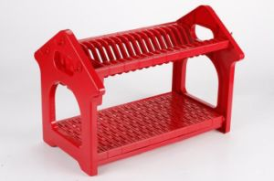 2 Layers Colorful ABS Kitchen Dish Rack Dr16-Hbs pictures & photos