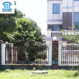 High Quality Created Wrought Iron Fence 011 pictures & photos