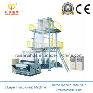 Double Layer Co-Extruding Film Blowing Machine pictures & photos