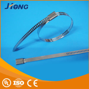 4.6mm Width New Type Ladder Stainless Steel Cable Ties pictures & photos
