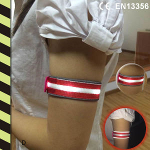 LED Reflective Safety Armband CE En13356 pictures & photos