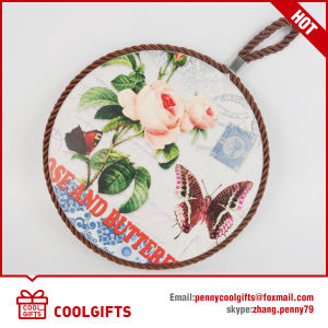 Fashion Gift Ceramic Cork Coaster with Sublimation for Kitchen pictures & photos