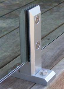 Swimming Pool & Garden Farmeless Glass Balustrade Spigot (CR-A09) pictures & photos