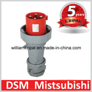 IP67 3p+E 63A Cee Three Phase Industrial Socket Plug pictures & photos