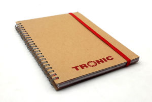 New Leather Cover Paper Notebook Kraft pictures & photos