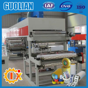 Gl-1000b China Supplier 500mm BOPP Tape Coating Machine with Printing pictures & photos