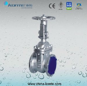 Carbon Steel Flanged Type Gate Valve pictures & photos