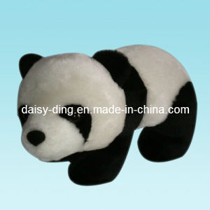 Plush Standing Panda Toy with Soft Velro Material pictures & photos