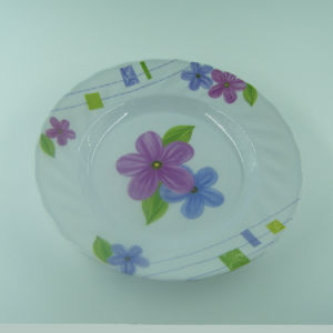 Top Quality Africa Melamine Flower Beauty Dish Wholesale pictures & photos