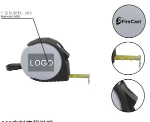 Measuring Tape with Rubber Wrapper for Promotion pictures & photos