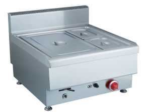 600 Range Table Top - Gas Bain Marie pictures & photos