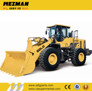 Shandong Lingong Construction Machinery 5t Wheel Loader LG956L pictures & photos