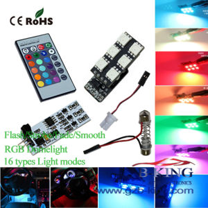 Canton Fair Wieless Remote Control RGB LED Dome Light pictures & photos