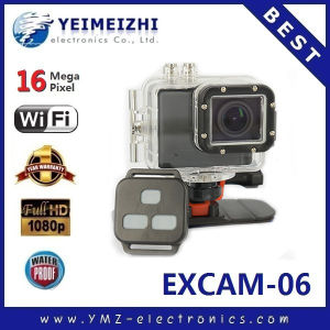 WiFi Cam Full HD Wi-Fi DV Sport Camera Excam-06