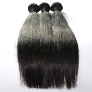 100% Unprocessed 8A Indian Virgin Hair Weft Straight Hair Weft pictures & photos