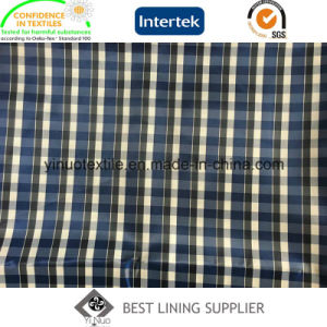 Classic Two Tone Check Lining 100 Polyester Jacket Lining Fabric pictures & photos