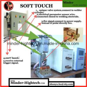 Finger Protected Desktop Spot Welding Machine pictures & photos