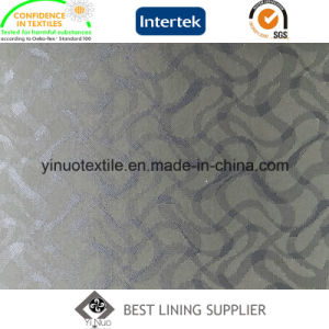 55%Polyester 45%Viscose Jacquard with Cheap Price for Men′s Suit Lining pictures & photos