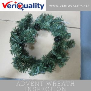 Advent Wreath Quality Control Inspection Service at Lufeng, Guangdong pictures & photos