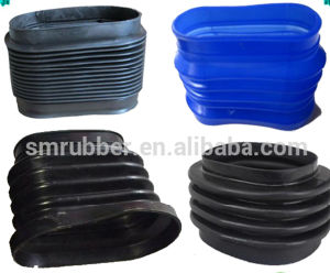Custom Made Auto Air Filter Intake Rubber Bellows Tube pictures & photos