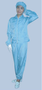 ESD / Cleanroom Jacket & Pant, Lint Free Uniform pictures & photos