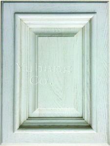 Solid Oak Wood Kitchen Cabinet Door (YJ-007) pictures & photos