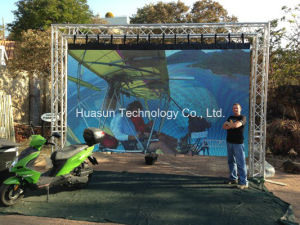 Galaxias P6 Flexible LED Screen for Outdoor Stage Rental pictures & photos