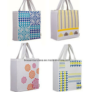 OEM Produce Large Cotton Logo Printed Promotional Reusable Shopping Bag pictures & photos