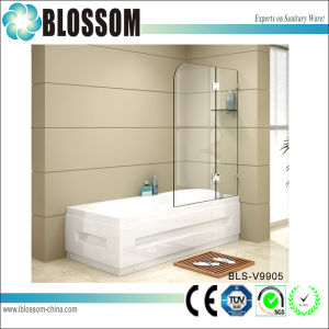 Modern Bathroom 10 Mm Tempered Portable Glass Bath Shower Screens pictures & photos