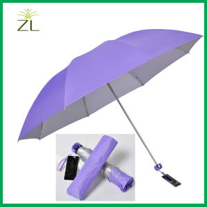 Folding Umbrella Cheap Promotion Umbrella with Logo Printing pictures & photos