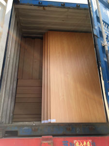 18mm Thickness Wood Grain Color Melamine MDF pictures & photos
