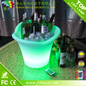 Plastic LED Ice Bucket pictures & photos