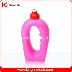 Plastic Sport Water Bottle, Plastic Sport Bottle, 360ml Plastic Drink Bottle (KL-6114) pictures & photos