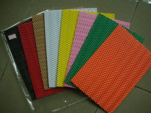 EVA Sheets with Patterns for Handworking pictures & photos