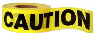 Printed PE Traffic Barrier Tape, Caution Tape, Warning Tape pictures & photos