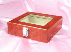 High Piano Glossy Lacquered Wooden Box with Perfume Box (HYW027) pictures & photos