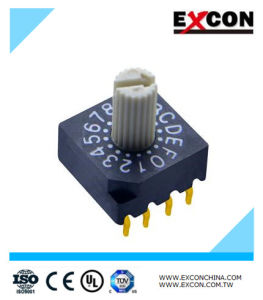 High Rating Rotary Switch Electronic Dial DIP Switch pictures & photos